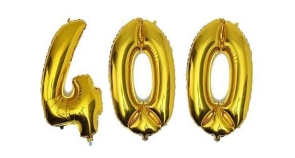400 – Schallmauer-Durchbruch im Mitarbeiter-Verzeichnis